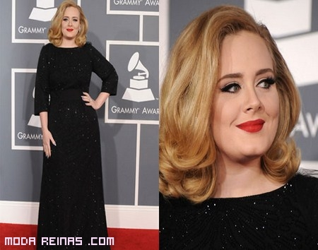 Adele ganadora grammys 2012