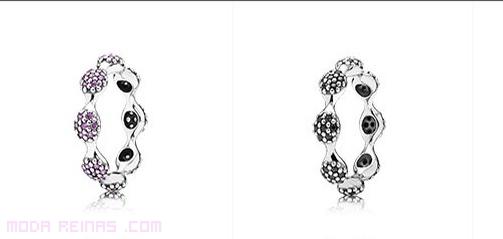 anillos de moda asimétricos