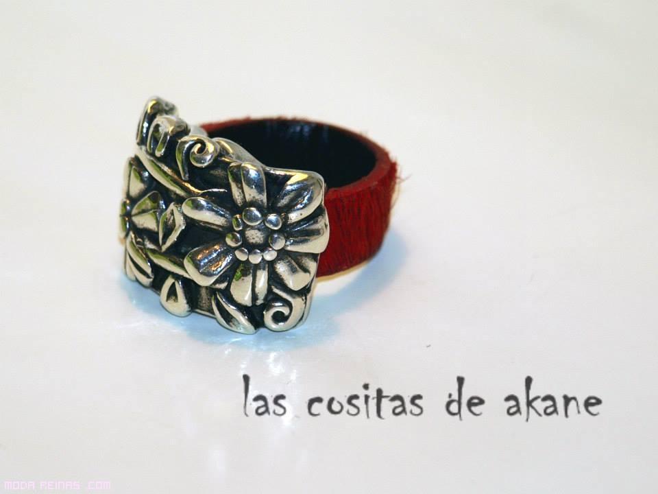 anillos plata a la moda