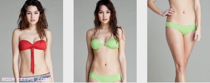 Bikinis Bandeau de moda