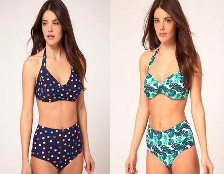 bikinis estampados 2013