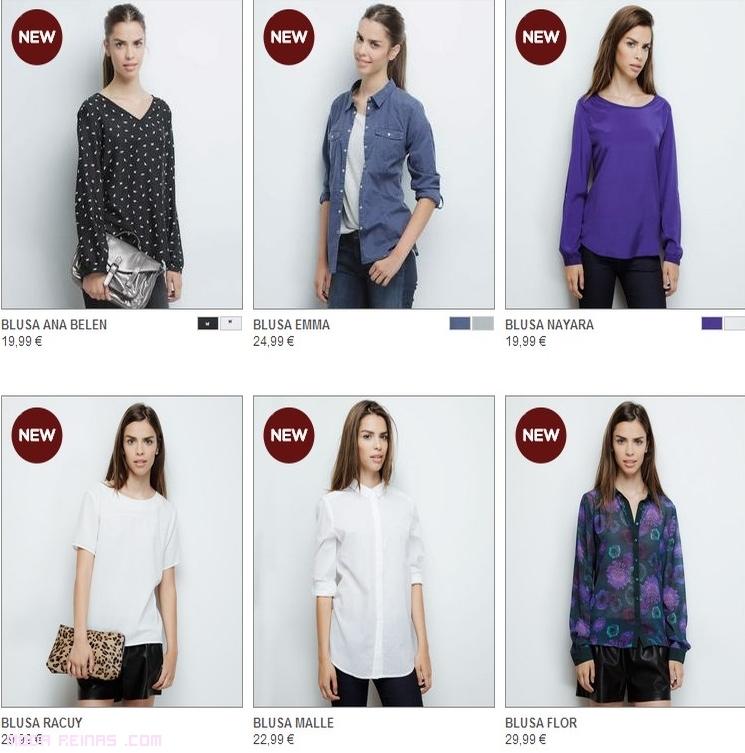 blusas de colores a la moda
