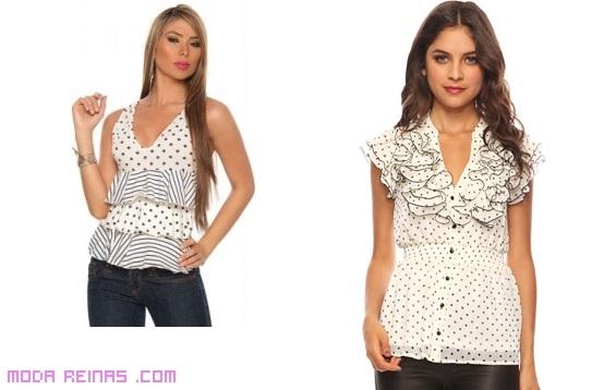 blusas estampadas verano 2013