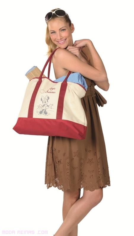 Bolsa de playa a la moda