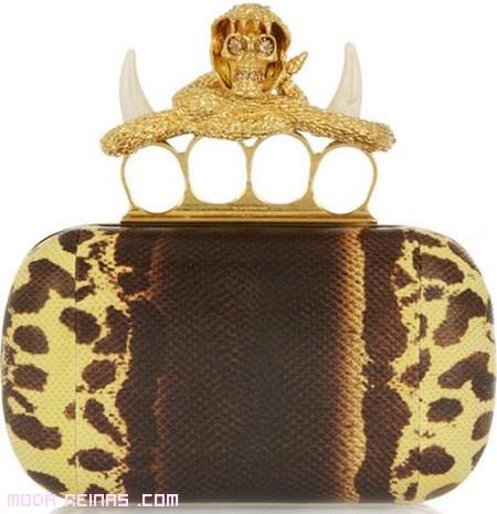 Bolsos con calaveras de moda