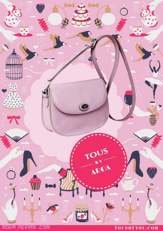 bolsos juveniles en tonos rosa