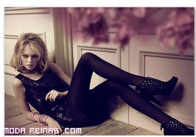 botines para vestidos en color negro