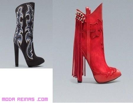 ed0e6f1e2 Botas Zara llenas de tachuelas y moda | Moda Reinas