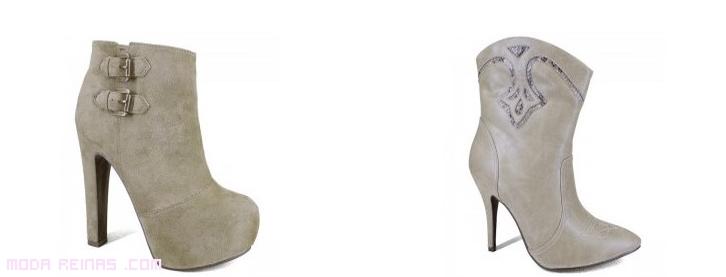 botines con hebillas a la moda