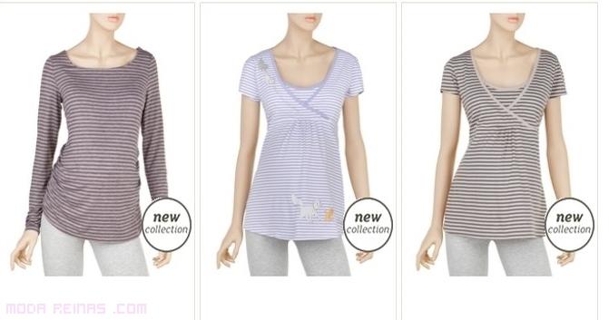 camisetas de moda para embarazadas
