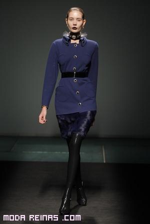 trajes de chaqueta y faldas de cuero