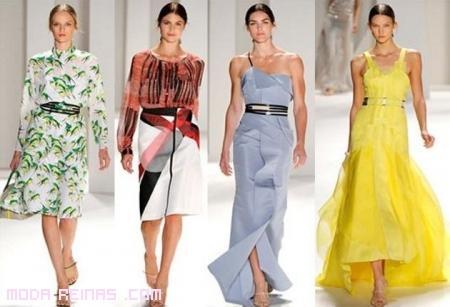 Vestidos de moda de Carolina Herrera