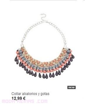 Collares de colores a la moda