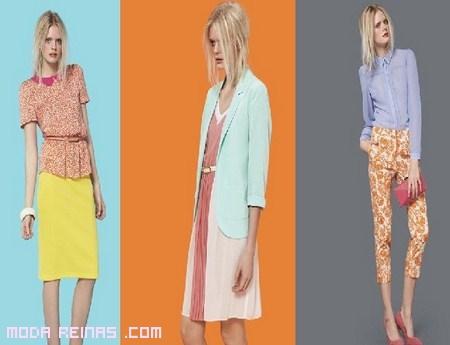 Colores Block de moda