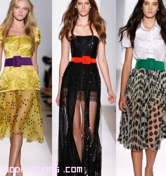 cinturones anchos para vestidos