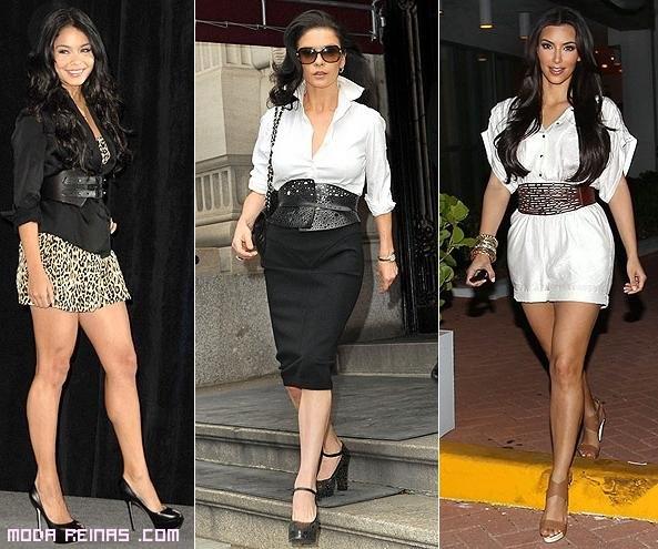 cinturones fajín de moda