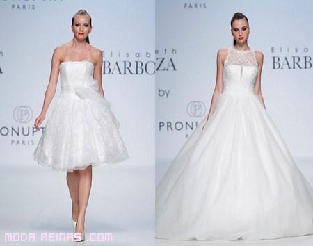 Vestidos blancos para novia