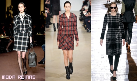 Estamapado-a-cuadros-en-faldas-Dries-Van-Noten