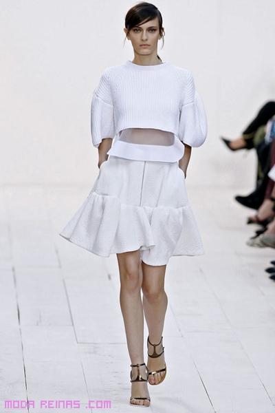 Faldas sencillas para el verano