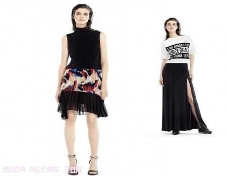 Faldas de moda Mango 2014