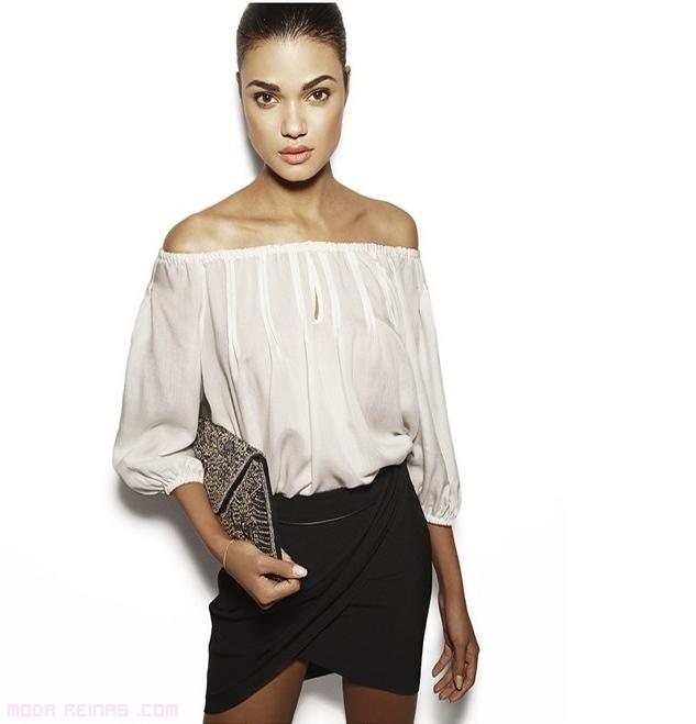 faldas en negro a la moda