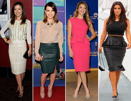 faldas de famosas a la moda