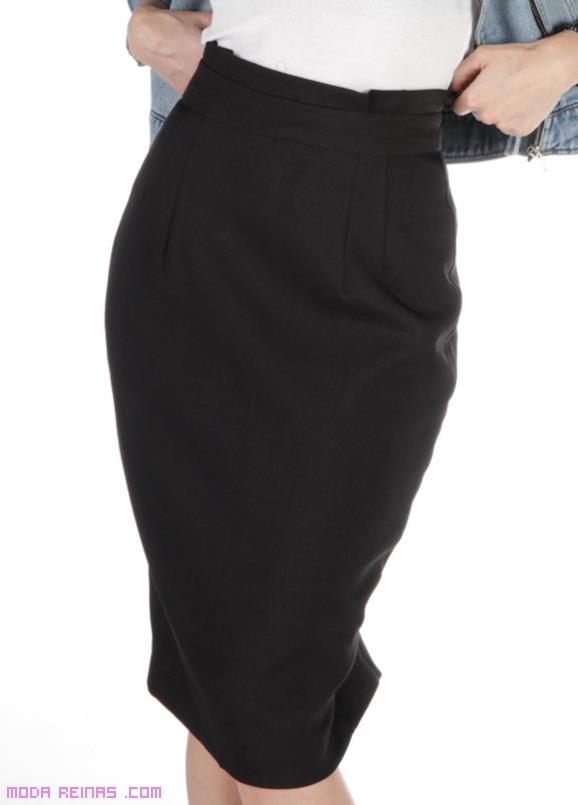faldas de talle alto