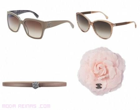 Gafas y horquillas Chanel