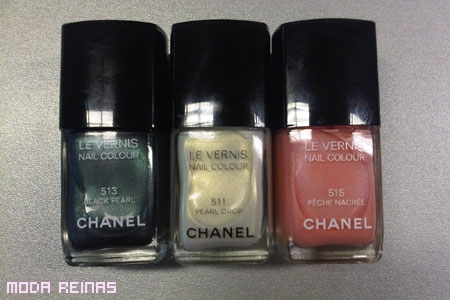 Colores perlados de Chanel