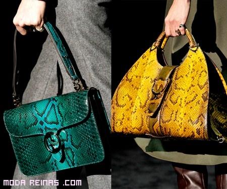 Tendencias Gucci 2012 piel serpiente