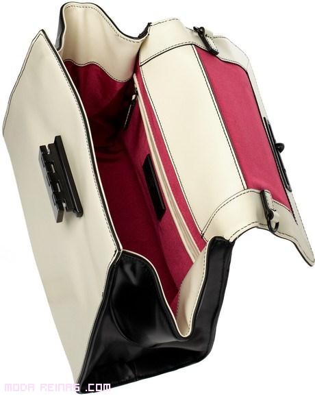bolsos con amplios interiores