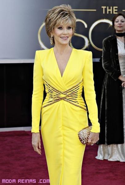 Vestidos largos en color amarillo