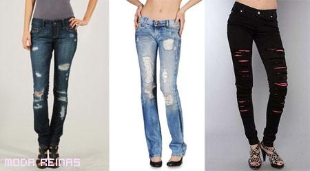 Jeans-desgastados-desagarrados-se-usan-primavera-2010