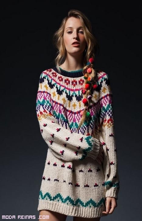jersey étnico de lana