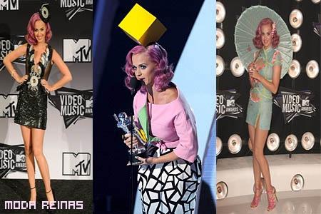 Vestido de Kate Perry en los MTV