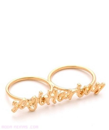 anillos con el signo zodiacal