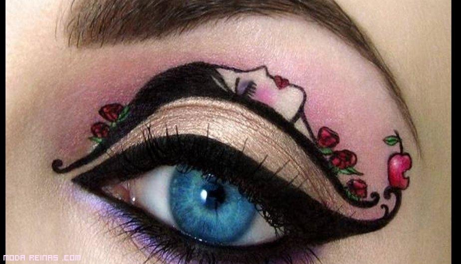 Maquillaje basado en cuentos infantiles