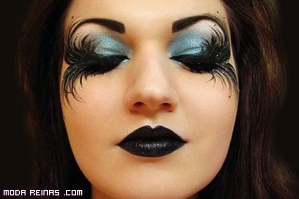 maquillaje original para fiestas