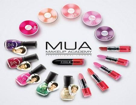 Colección de maquillaje a la moda