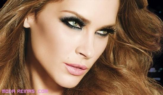 Maquillaje de ojos vintage
