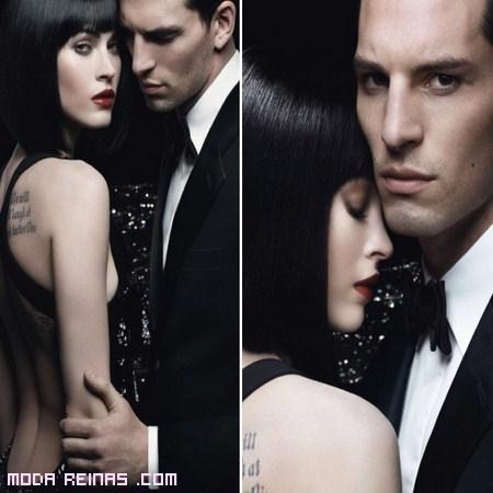Megan Fox y Armani Code perfumes
