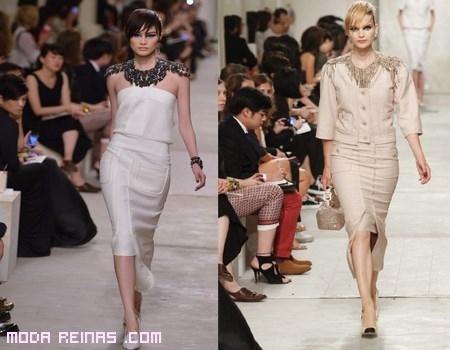 vestidos cortos en blanco
