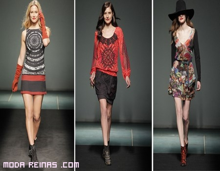 moda femenina con estampados