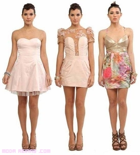 vestidos cortos de noche