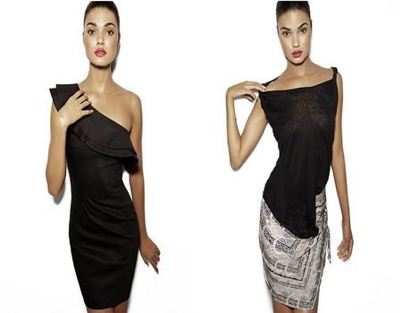 vestidos de color negro a la moda