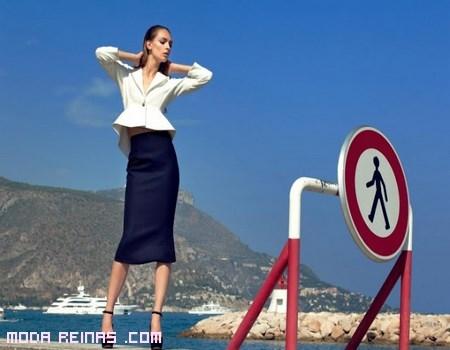 faldas de moda semiformal