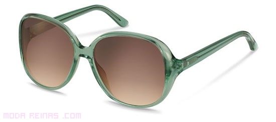 Monturas en color verde para gafas de sol
