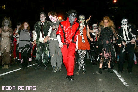 Disfraces halloween muertos