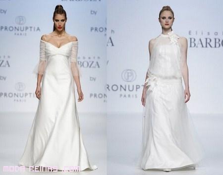 Estilos de novia 2012