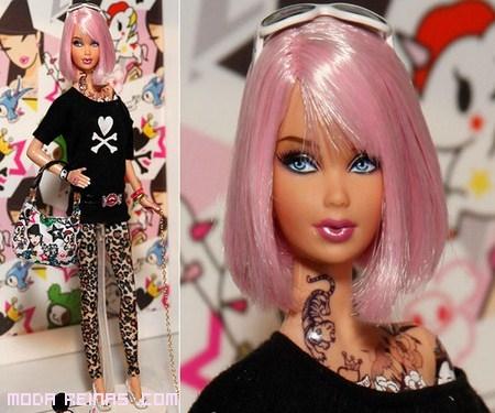 Barbie Tokidoki a la moda